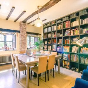 hotel con encanto en cantabria instalaciones biblioteca
